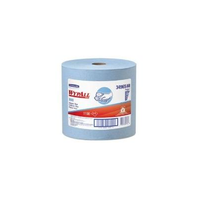 Wypall X60 Wipers Jumbo Roll, Blue, 1,100 Wipers (KCC34965)
