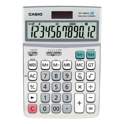 Taschenrechner »DF-120eco« grau,...