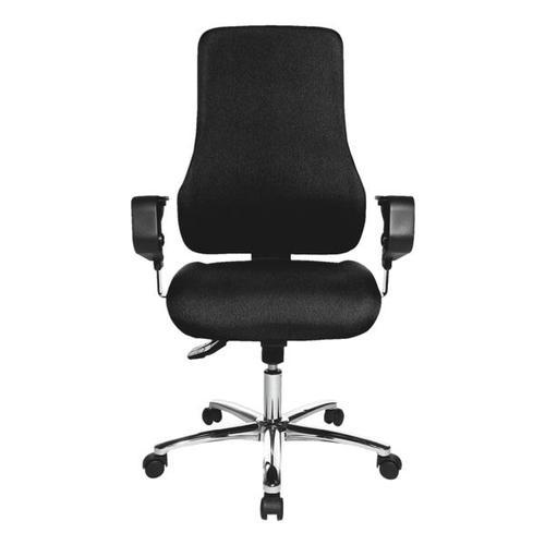 Bürostuhl »Premium« mit Armlehnen schwarz, Topstar