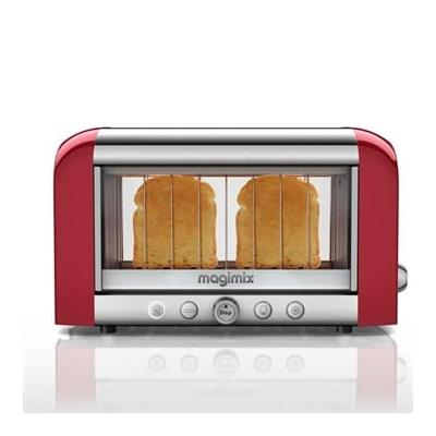 Toaster vision panoramique Rouge...