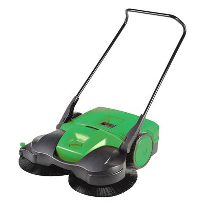 """Bissell BG-497 38"""" Push-Power Deluxe Sweeper w/ (3) Brushes, Green"""