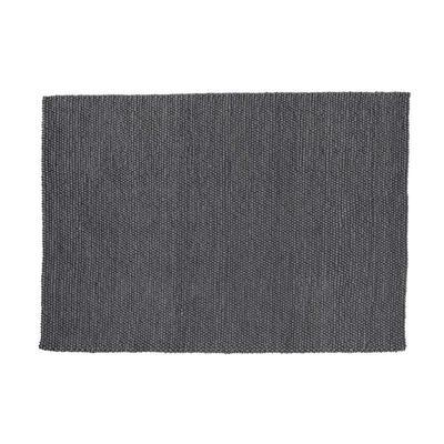 Tapis en laine gris 140 x 200 cm