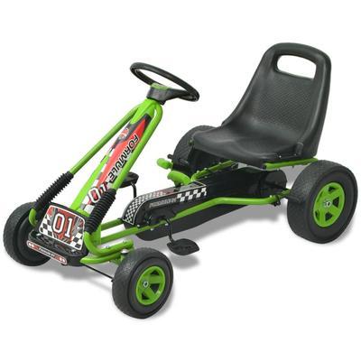 vidaXL Kart à pédale avec siège ...