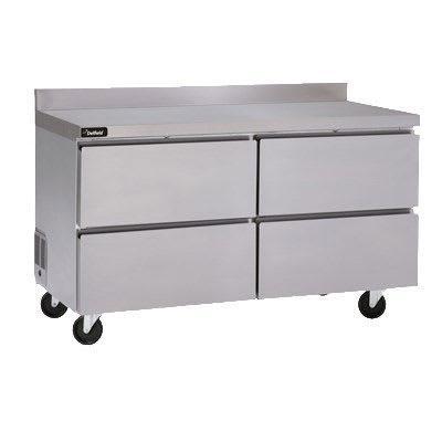 """Delfield GUF32BP-D 32"""" W Worktop Freezer w/ (1) Section & (2) Drawers, 115v"""