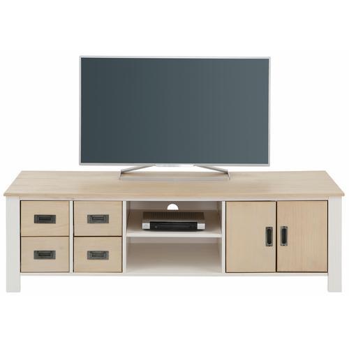 Home affaire TV-Board Madagaskar, Breite 150 cm weiß Lowboards Kommoden Sideboards