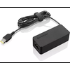 Lenovo 45W Slim Port AC Adapter Lenovo AC Adapter offers fast and efficient charging. Keep one in the office, one at home, and another in your carrying case for convenient access to power. Just plug it into an available outlet to deliver AC power to the compatible Lenovo NBs listed...