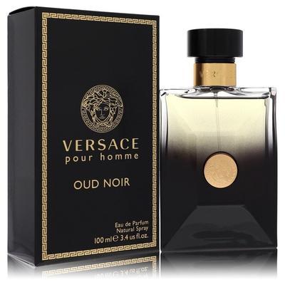 Versace Pour Homme Oud Noir For Men By Versace Eau De Parfum Spray 3.4 Oz