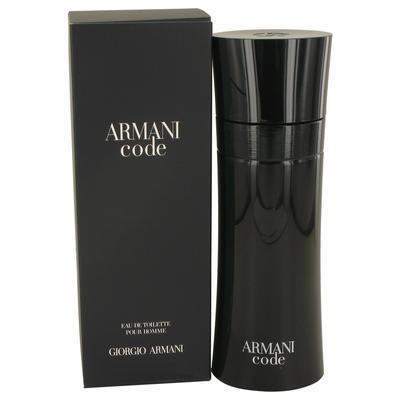Armani Code For Men By Giorgio Armani Eau De Toilette Spray 6.7 Oz