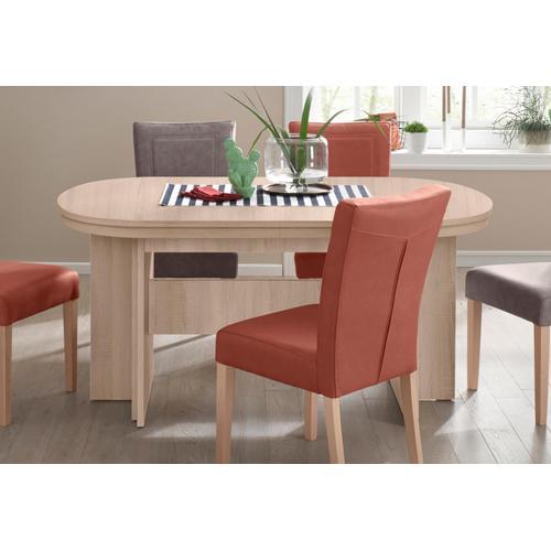 my home Kulissen-Esstisch Maxim, Breite 160-320 cm braun Ausziehbare Esstische Tische