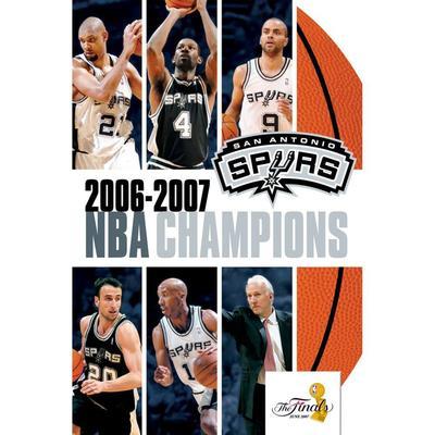 """San Antonio Spurs 2007 NBA Champions DVD"""