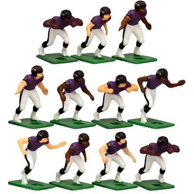 Baltimore Ravens Dark Uniform Action Figures Set