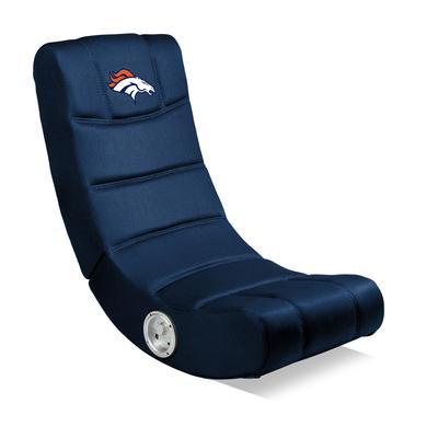 Denver Broncos Blue Video Chair with Bluetooth