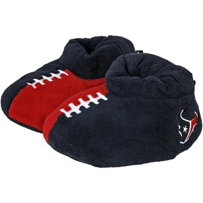 Youth Houston Texans Puffy Ankle Slippers