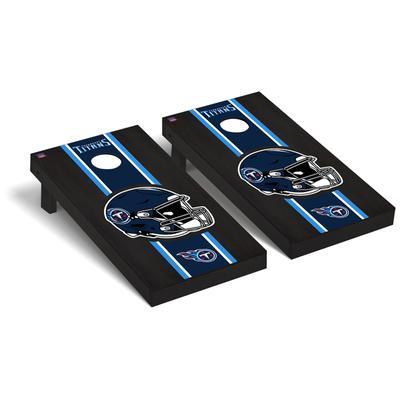 Tennessee Titans 2' x 4' Onyx Cornhole Board Set