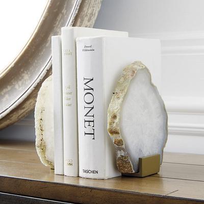 Set of 2 Agate Bookends - Ballard Designs