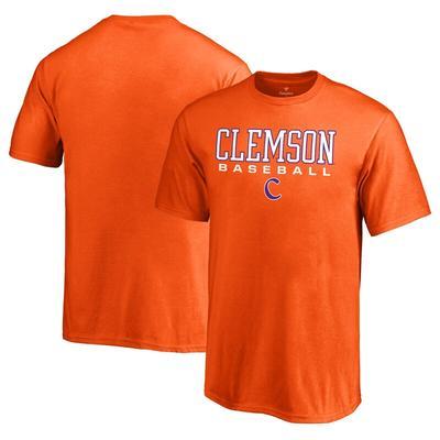 Clemson Tigers Fanatics Branded Youth True Sport Baseball T-Shirt - Orange