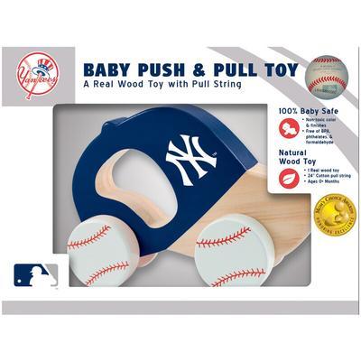 New York Yankees Infant Push & Pull Toy