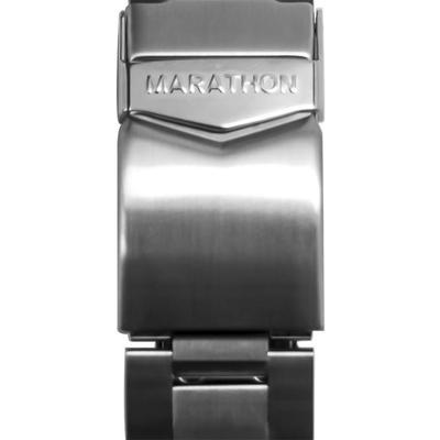 """Marathon Watch Watch Accessories Stainless Steel Watch Bracelet 22mm No Markings Stainless Steel"""
