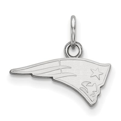 New England Patriots Women's Sterling Silver XS Charm