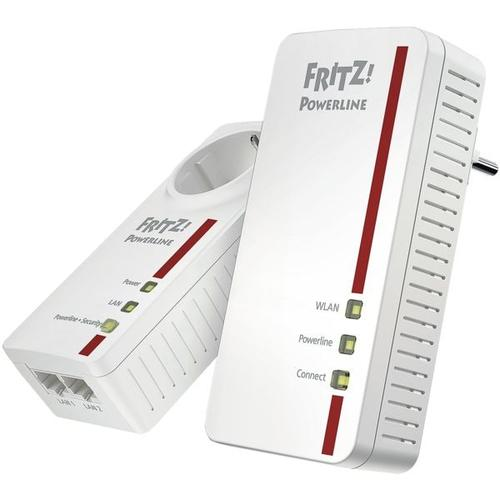 »FRITZ!Powerline 1260E WLAN Set« weiß, AVM, 6.7x13.2x3.2 cm