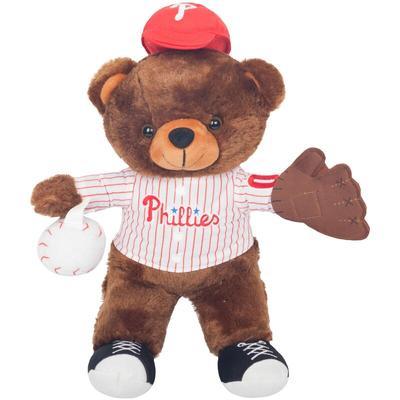 Philadelphia Phillies Locker Room Buddy Dress Me Plush Bear Kit