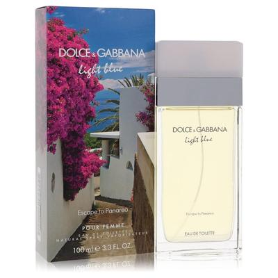 Light Blue Escape To Panarea For Women By Dolce & Gabbana Eau De Toilette Spray 3.3 Oz