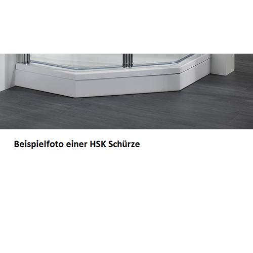 HSK Acryl Schürze 11 cm hoch, für HSK Viertelkreis Duschwanne 90 x 90 cm 505002-weiss