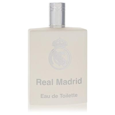 Real Madrid For Men By Air Val International Eau De Toilette Spray (tester) 3.4 Oz