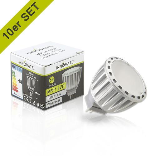 INNOVATE LED-Leuchtmittel im 10er-Pack A weiß LED Leuchtmittel Lampen Leuchten EEK