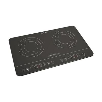 Plaques à induction ultra fine 2 foyers 3500 W KCYL35-DC06 Kitchen Chef Professional