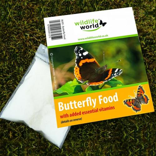 Schmetterlingsfutter
