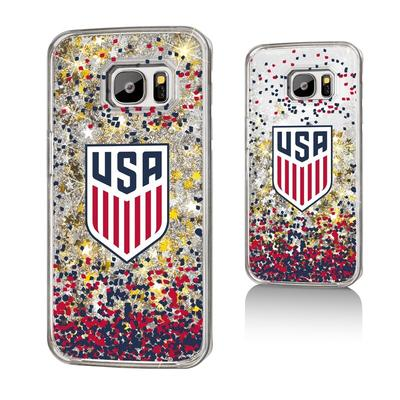 US Soccer Glitter Galaxy S7 Case