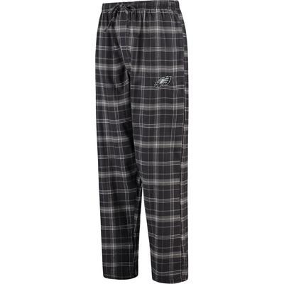 Men's Philadelphia Eagles Concepts Sport Charcoal Ultimate Plaid Flannel Pajama Pants