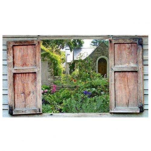 Gartengemälde Ausblick 50 x 70 cm