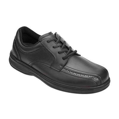 Orthopedic Metatarsalgia Casual Shoes, Enhanced Comfort, Men's Casual Shoes | OrthoFeet Orthopedic Footwear, Gramercy, 8.5 / Extra Wide / Black