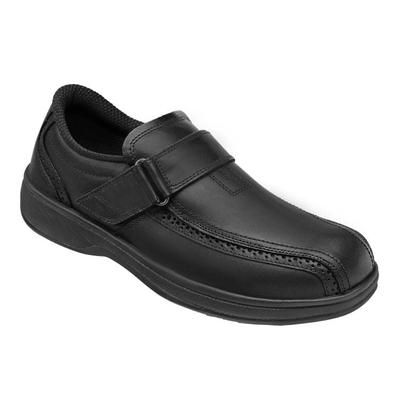 #1 Neuropathy Casual Shoes, Premium Arch Support, Enhanced Comfort, Men's Casual Shoes | OrthoFeet, Lincoln Center, 14 / Extra Wide / Black
