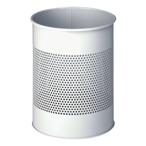 Stahl-Papierkorb 15 L grau, Durable, 26x31.5 cm