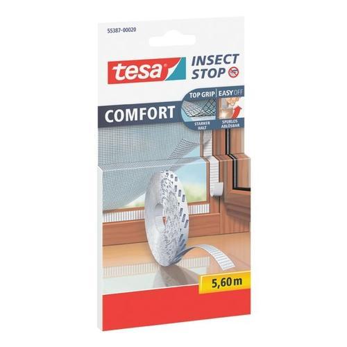 Klettband »Comfort« 55387 für Fliegengitter weiß, tesa
