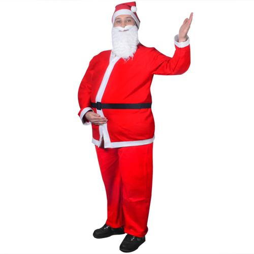 vidaXL Weihnachtskostüm Weihnachtsmann Kostüm Set