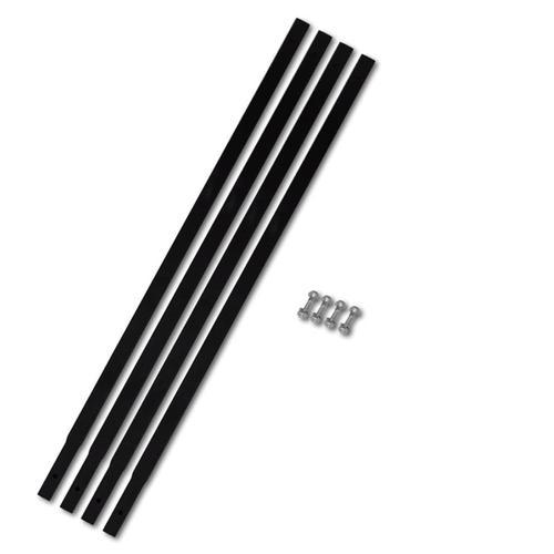vidaXL Verlängerungsrohr für Bohrer 4 x 1 m Rohranschluss