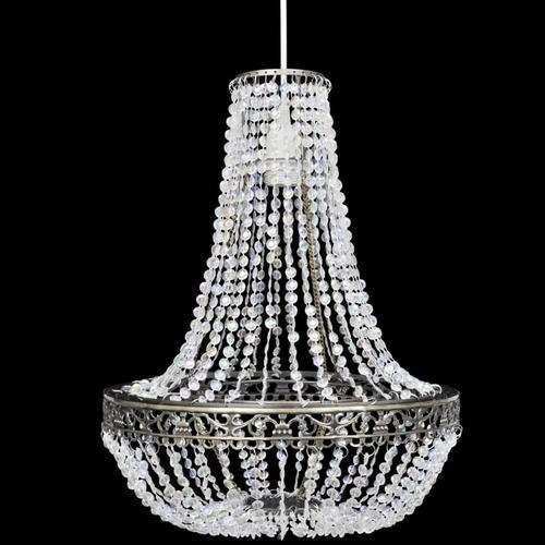vidaXL Kristall-Kronleuchter 36,5 x 46 cm