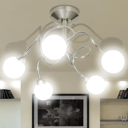 vidaXL Deckenleuchte Deckenlampe Leuchte Licht Lampe 5x G9