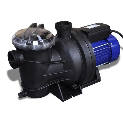 vidaXL Schwimmbadpumpe Umwälzpumpe Poolpumpe Pumpe elektronik blau 800W
