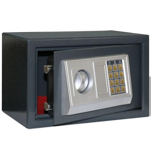 vidaXL Elektronischer Safe Tresor Dokumententresor 31 x 20 x 20 cm