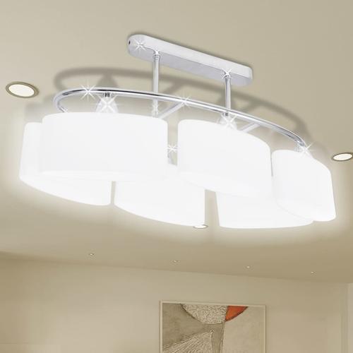 vidaXL Beleuchtung Decken Leuchte Lampe Deckenlampe 6 x E14