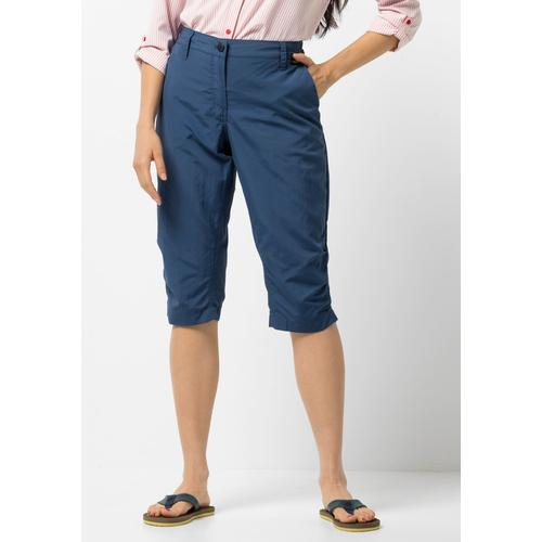 Jack Wolfskin 3/4-Hose KALAHARI 3/4 PANTS WOMEN blau Damen Caprihosen Hosen
