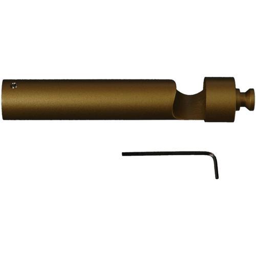 Liedeco Trägerverlängerung, für Gardinenstangen Ø 20 mm goldfarben Gardinenstangenhalter Zubehör Gardinen Vorhänge Trägerverlängerung