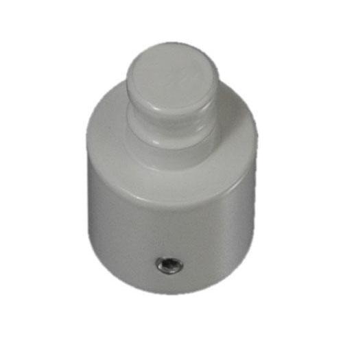 Liedeco Trägerverlängerung, für Gardinenstangen Ø 20 mm weiß Gardinenstangenhalter Zubehör Gardinen Vorhänge Trägerverlängerung