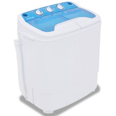 vidaXL Mini-Waschmaschine mit Sc...