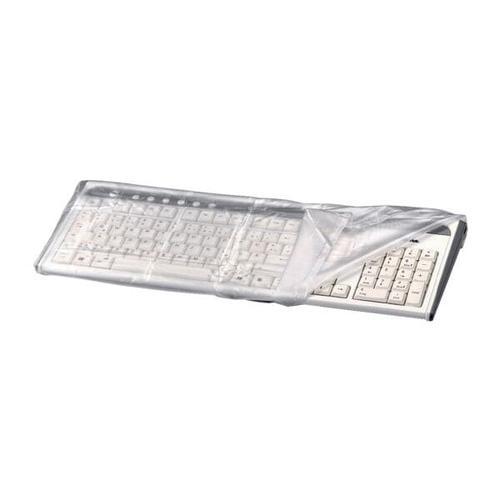 Tastatur-Staubschutzhaube transparent, Hama, 48x5x22 cm